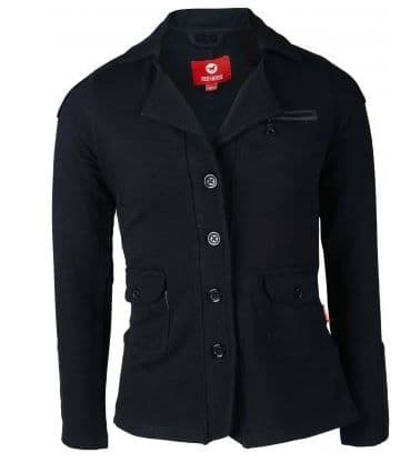 Red Horse Boys Junior 'Jump' Show Jacket in Black