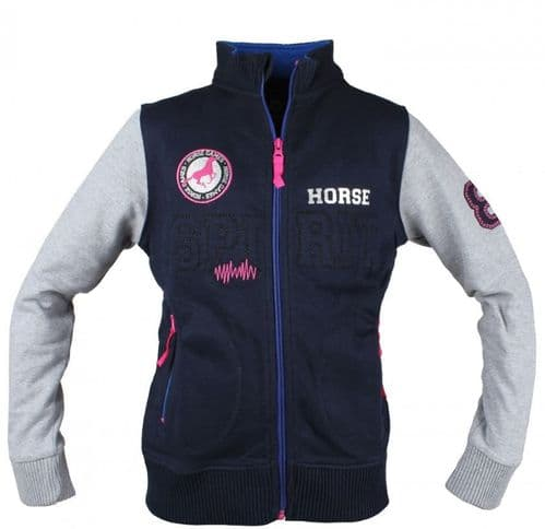 Red Horse Kappa Sweater Jacket in Blue (116cm/6yrs)