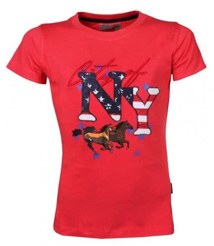 Red Horse T-Shirt in Red