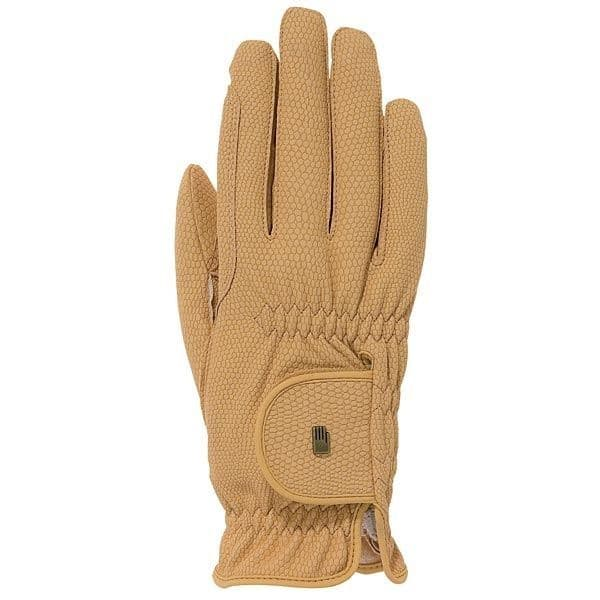 Roeckl Grip Gloves with Touchscreen compatibility in Chamois