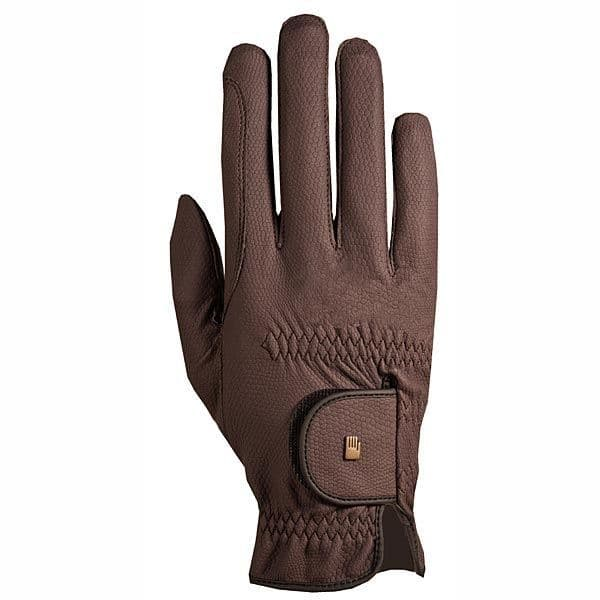 Roeckl Grip Gloves with Touchscreen compatibility in Mocha