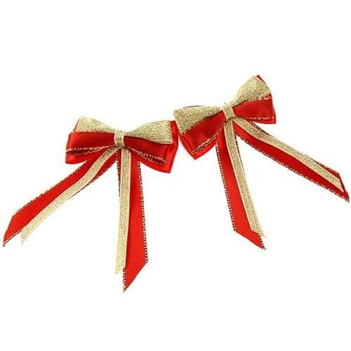 ShowQuest Piggy Bow & Tails in Red/Red/Gold