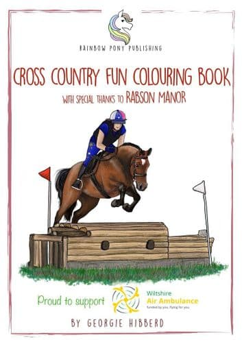 The Cross Country Fun Colouring Book