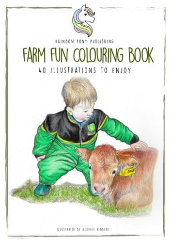 The Fun Farm Colouring Book