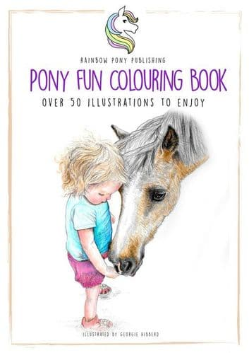 The Pony Fun Colouring Book
