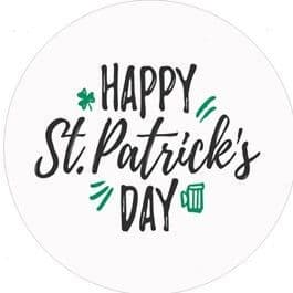 24 St. Patrick's Day Cupcake Toppers Design 5