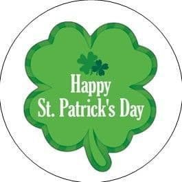 24 St. Patrick's Day Cupcake Toppers Design 6