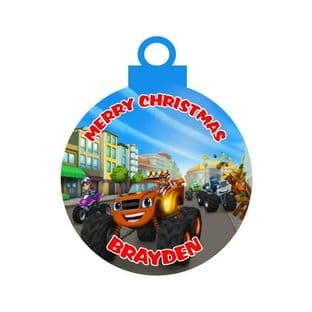 Blaze & the Monster Machine Acrylic Christmas Ornament Decoration
