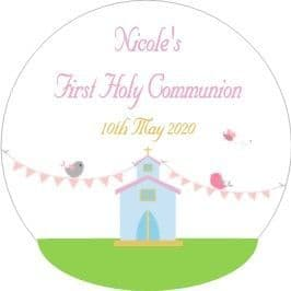 Church Communion Sticker