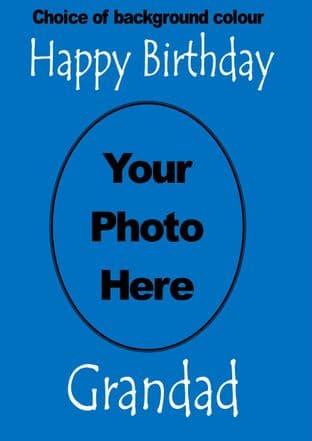 Custom Image or Photo Card - any text for any occasion
