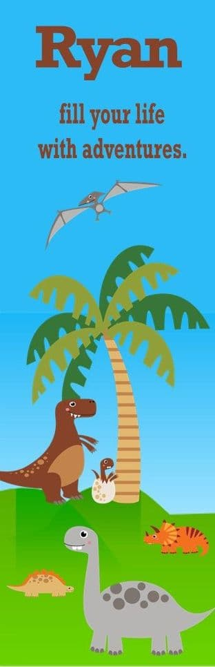 Dinosaur Bookmark Design 2