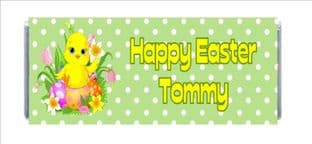 Easter Chocolate Candy Bar Wrapper Design 1