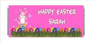 Easter Chocolate Candy Bar Wrapper Design 3