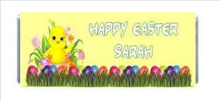 Easter Chocolate Candy Bar Wrapper Design 4