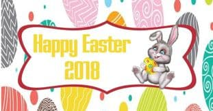 Easter Egg Background Chocolate Candy Bar Wrapper