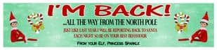 Elf on the Shelf Return Banner