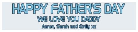Father's Day Banner Design 1
