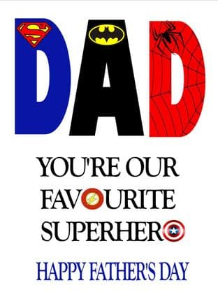 Father's Day Card Design 1