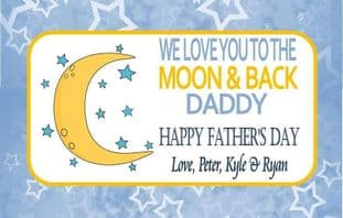 Father's Day Chocolate Bar Wrapper Design 3
