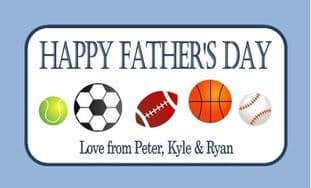 Father's Day Chocolate Bar Wrapper Design 4