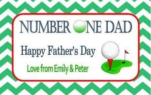 Father's Day Chocolate Bar Wrapper Design 5
