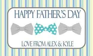 Father's Day Chocolate Bar Wrapper Design 7