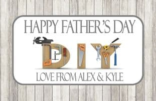 Father's Day Chocolate Bar Wrapper Design 8