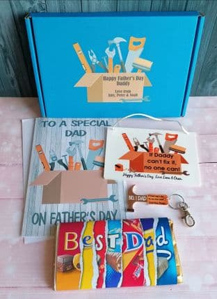 Father's Day DIY Themed Gift Box