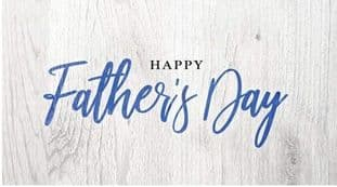 Father's Day Sticker Design Rectangle 3