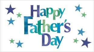 Father's Day Sticker Design Rectangle 7