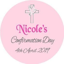 Girl Confirmation Sticker 2