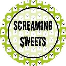 Halloween Background Cupcake Toppers 2