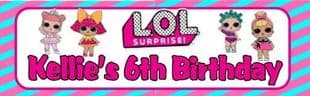 LOL Surprie Dolls Chocolate Candy Bar Wrapper