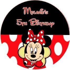 Minnie Mouse Stickers.