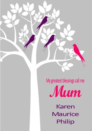 Mother's Day Card Design 3