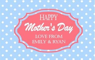 Mother's Day Chocolate Bar Wrapper Design 2