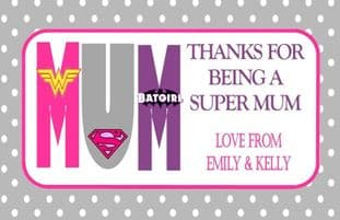 Mother's Day Chocolate Bar Wrapper Design 4