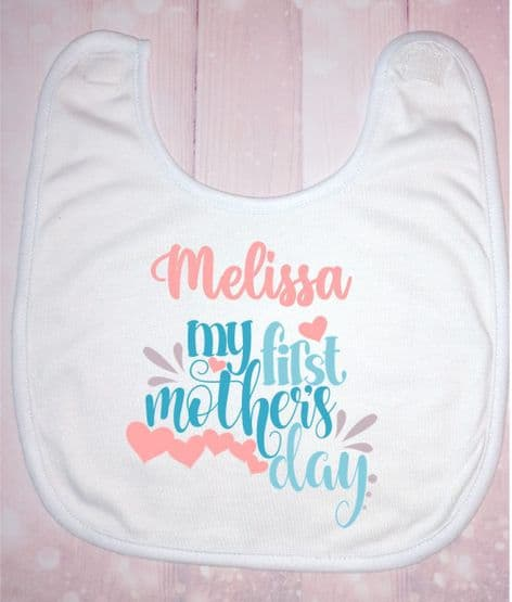 My First Mother's Day Pink Name