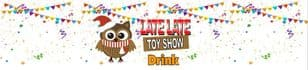 Owl Bunting Late Late Toy Show Bottle Wrappers