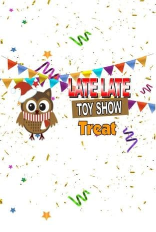 Owl Bunting Late Late Toy Show KitKat or Animal Bar Wrappers