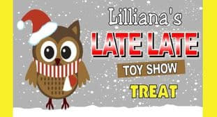 Owl Late Late Toy Show Cadbury 110g or Galaxy 114g Wrapper