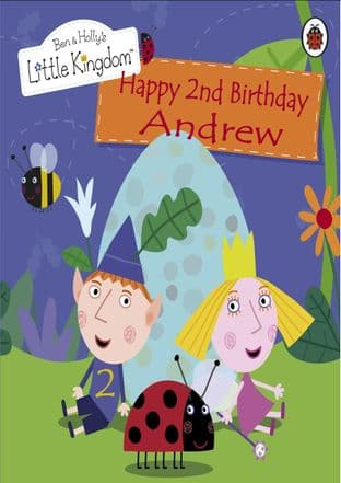 Personalised Ben and Holly's Little Kingdom Birthday Card