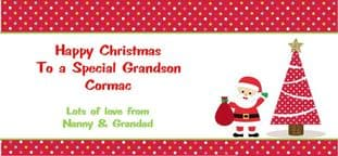 Personalised Christmas Gift Wallet for Money, Vouchers, Concert Tickets etc. Design 2