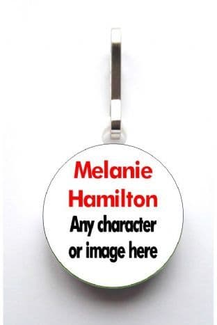 Personalised Custom Image Jacket Zipper Pull
