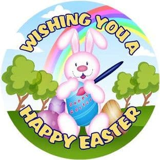 Personalised Easter Sticker Design 1
