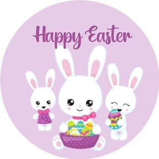 Personalised Easter Sticker Design 2