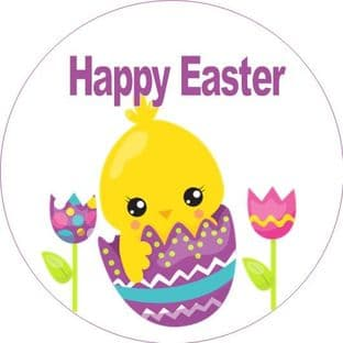 Personalised Easter Sticker Design 3
