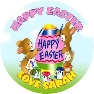Personalised Easter Sticker Design 7