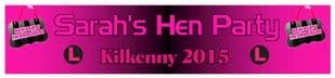 Personalised Hen Party Banner Design 6
