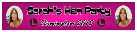 Personalised Hen Party Banner Design 7